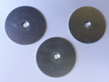 48mm Dia x 1.5mm Thick Galv Steel Washer With 5mm Hole