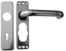 SAA 19mm Sprung Keyhole Lock Handle