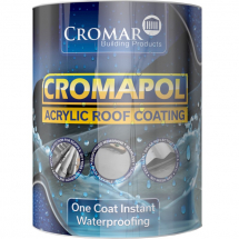 Cromar Cromapol Acrylic Roof Coating, Grey, 5kg