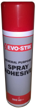 Clear 500ml Evode Gp Spray Adhesive