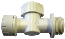 15mm x 3/4inch BSP Appliance Valve Tap Polypipe Polyfit