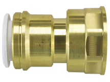22mm x 1inch Brass Female Cylinder Adaptor Speedfit