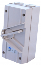 Ced Surface Mounting Switch TP&N 63A (Narrow Type) IP56
