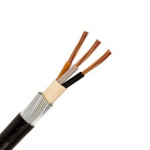 10.0mm 3 Core PVC SWA Cable 10Mtr Coil 6493X