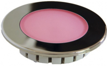 ***** CLEARANCE ***** 120mm Recessed Overhead RGBW LED Light Stainless Bezel