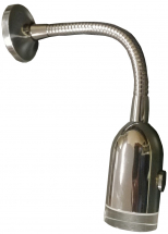 ***** CLEARANCE ***** Lena Swan Neck LED Reading Light Chrome Switched