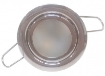 Pierre 45mm Chrome LED Downlight Spring Mount