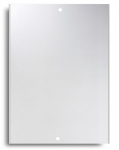 12inchx9inch Mirror, Drilled 2 Holes Polished Edges, Safety Backed