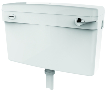 Dudley Contract Slimline Dual Flush Lever Cistern SIIO