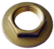 1/2inch Brass Backnut 39mm Flange
