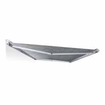 PW1100 Multivan Awning 2.6M VW Kit T5/T6 - Anthracite/Grey Wave
