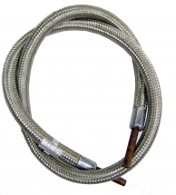39inch LPG Hose Assembly St/St Braided 5/16 (8mm) Bore End Fit