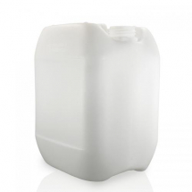 ***** CLEARANCE ***** 10Ltr Natural Jerrycan With 51mm Screw Cap