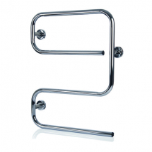 *****  CLEARANCE  ***** Alize S Shaped Towel Rail White 80W
