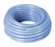 ***** CLEARANCE ***** Clear Plastic Hose Reinforced 12mm Bore x 3mm Wall 30Mtr Coil