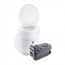 Thetford C223S Swivel Toilet 12V Flush Bulk - Aftermarket