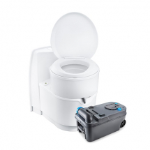 Thetford C223CS Swivel Toilet 12V Flush (OEM) Bulk
