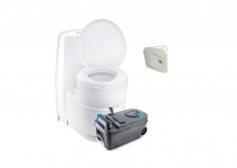 Thetford C224CW Swivel Toilet Manual Flush OEM C/W Waterfill Door