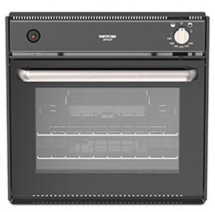 Thetford Duplex Oven & Grill Piezo Ignition c/w Blk Glass Door