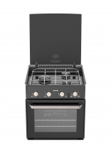 Thetford Triplex Cooker Black Lid & Glass 12V