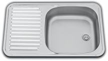 Dometic VA0936 Sink & Drainer St/St