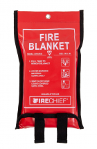 Fire Blanket 1.0mtr x 1.0mtr EN1869 Wall Mounted