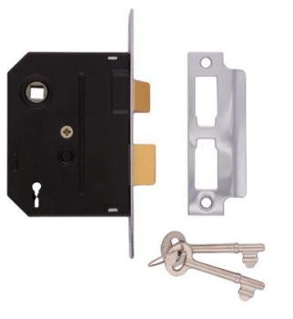 Union 2 Lever Sash Lock