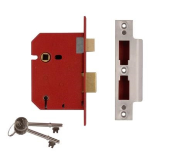 Union 5 Lever Sash Lock