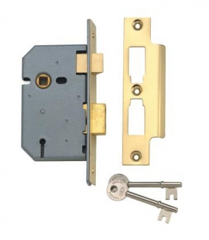 Union 3 Lever Sash Lock