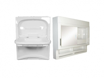 Contessa Tip Up Basin & Cabinet
